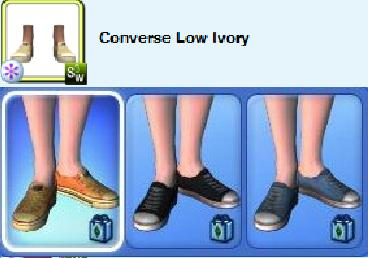 bad size shoes sims 3