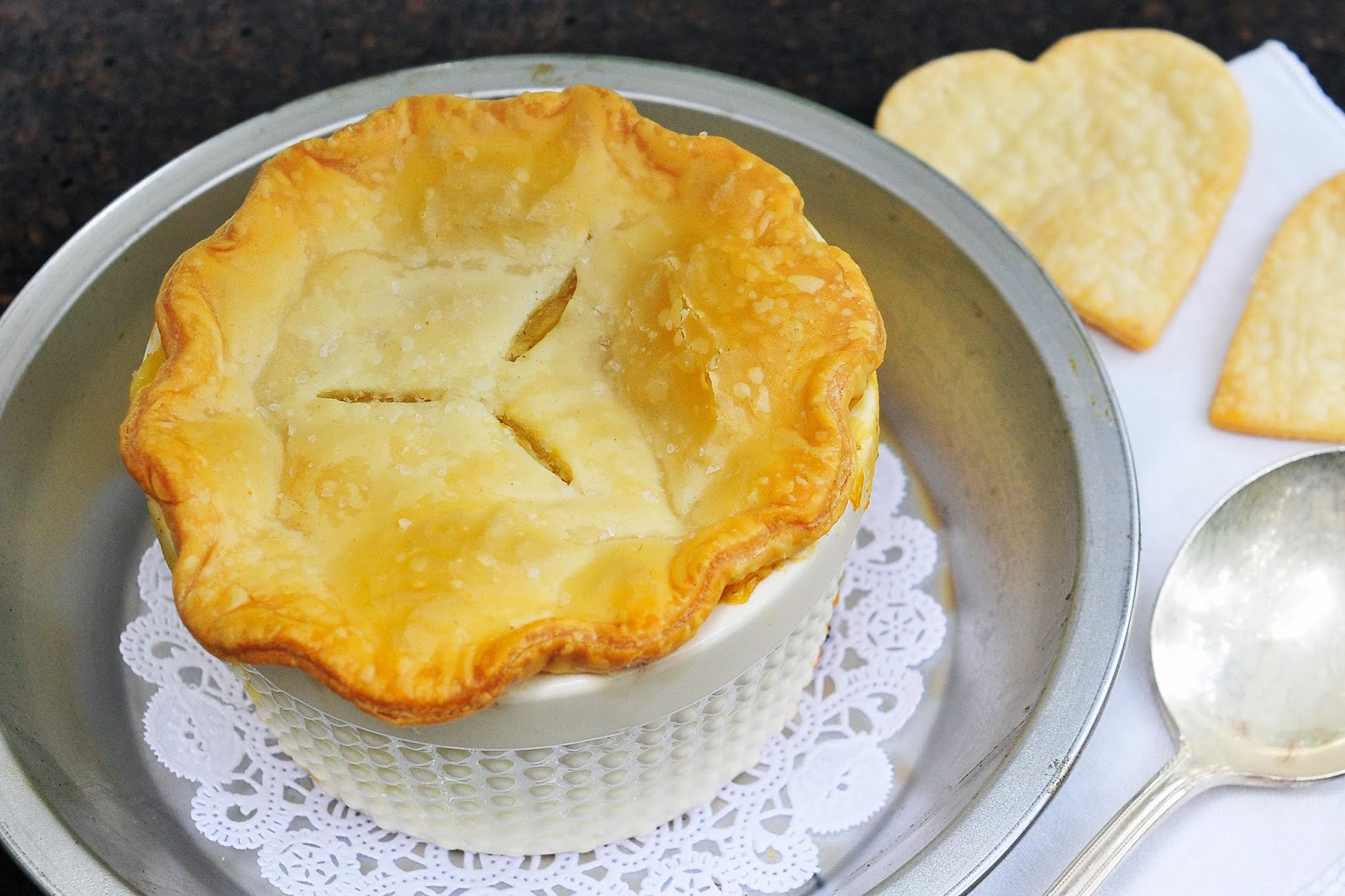 Simply Gourmet: Individual Chicken Pot Pies