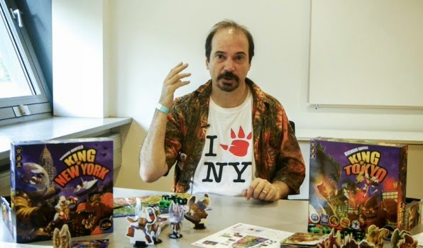 Richard Garfield and King of new york