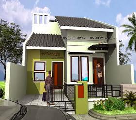 Contoh Desain Rumah Minimalis Terbaru - 1 Lantai