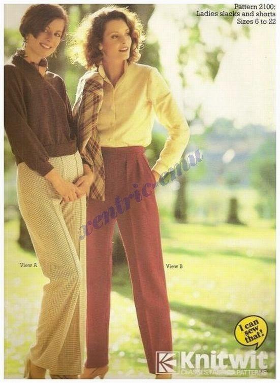 Pants! Knitwit pattern 2100.
