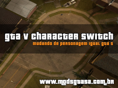 GTA V Character Switch Mod para GTA San Andreas