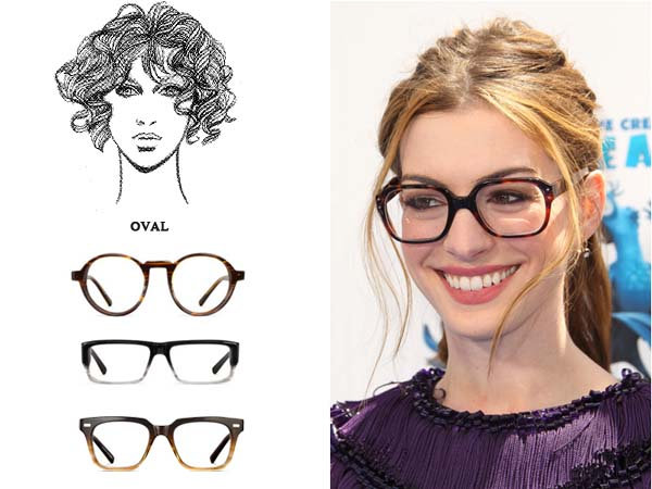 Eyeglass Frame Shapes For Oval Faces : Best Glasses Frames For Round Faces ...