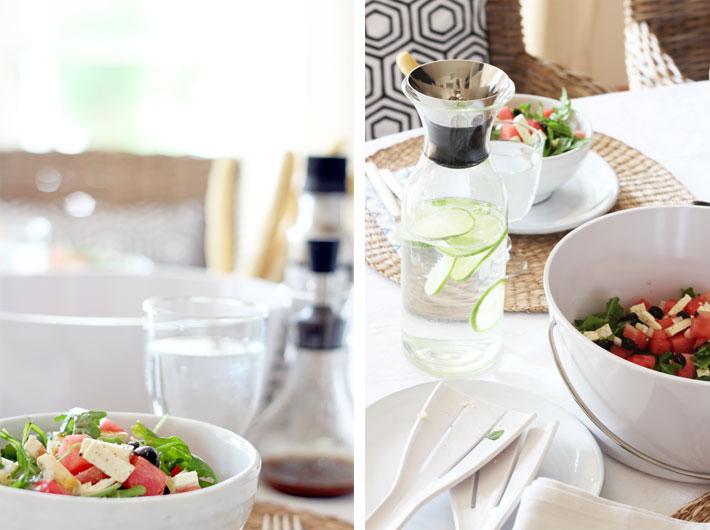 Amalie loves Denmark Rucola-Melonen Salat