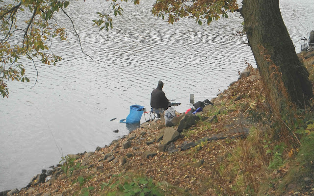 Angler at Rudyard Lake