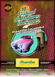 Le 10e festival de voitures anciennes de Dourdan...