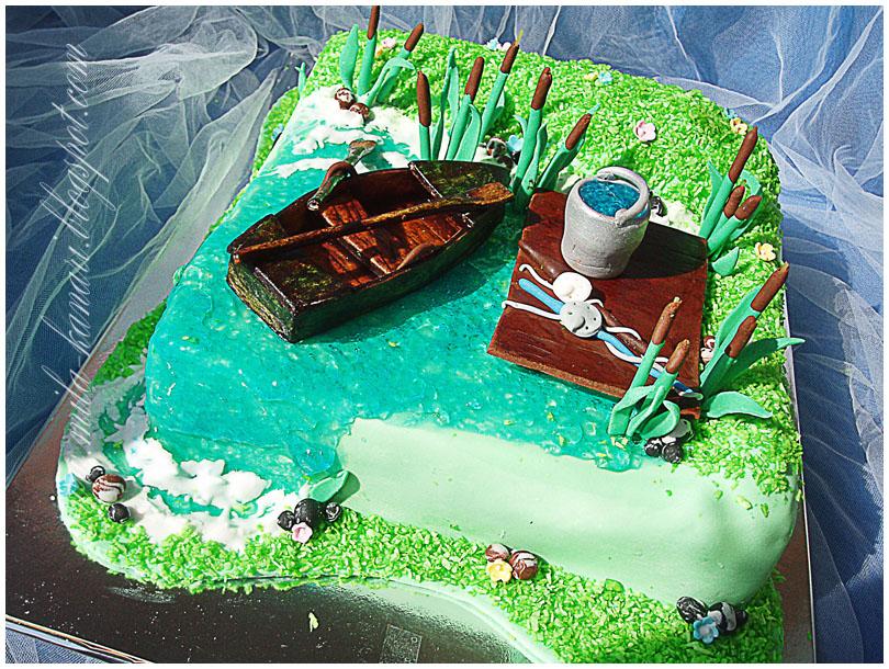 тортики для рыбака фото