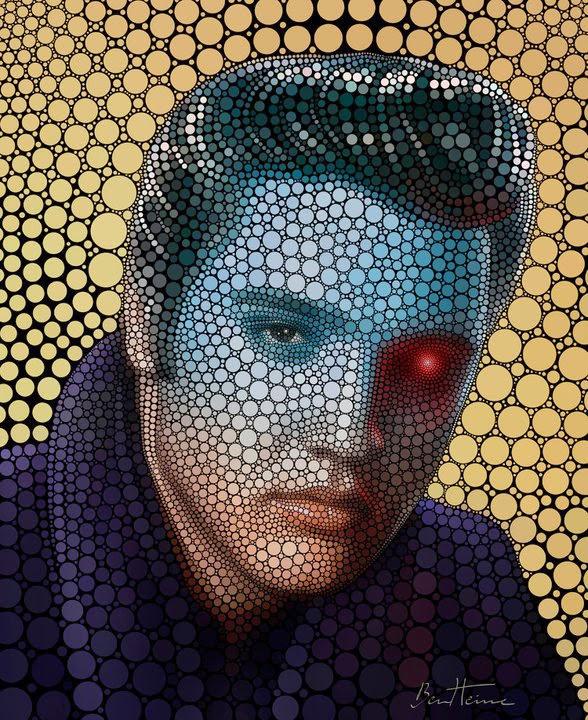 Benjamin Heine, Digital Circlism, Elvis Presley
