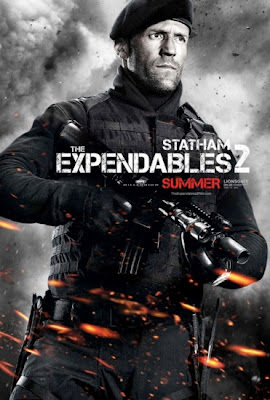 Jason Statham The Expendables 2 2012