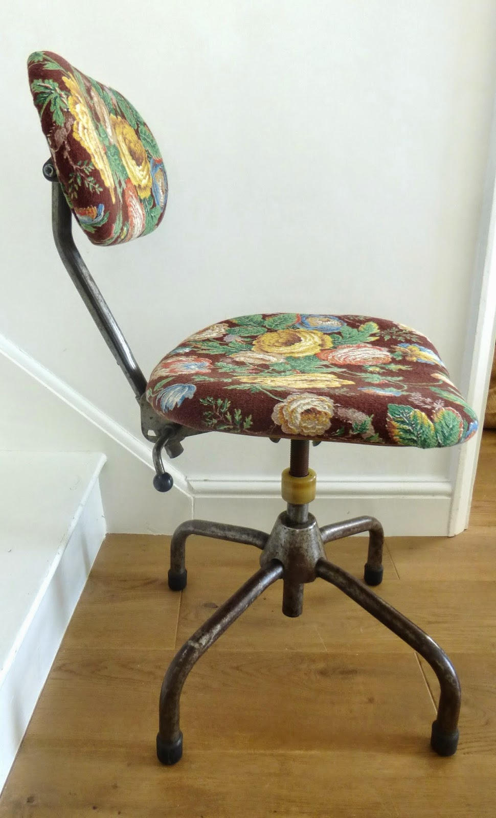 office chair makeover. Paint And Style: Vintage Office Chair Makeover. Makeover
