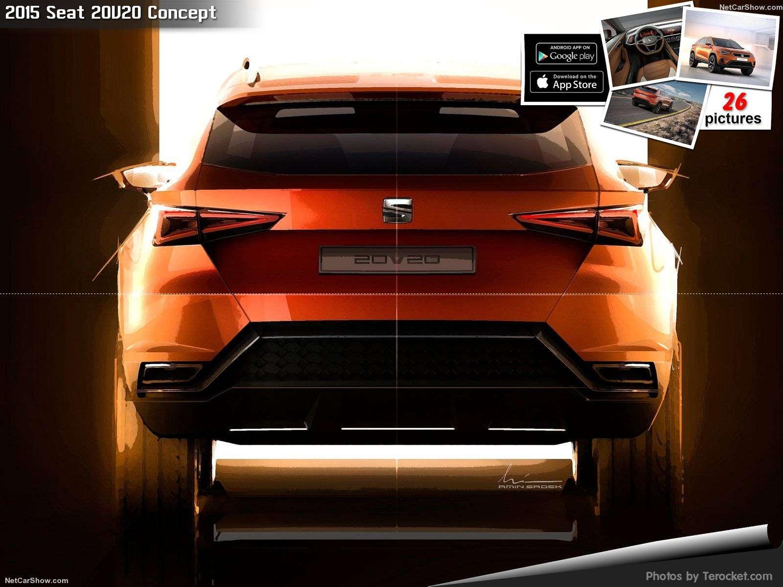 Hình ảnh xe ô tô Seat 20V20 Concept 2015 & nội ngoại thất