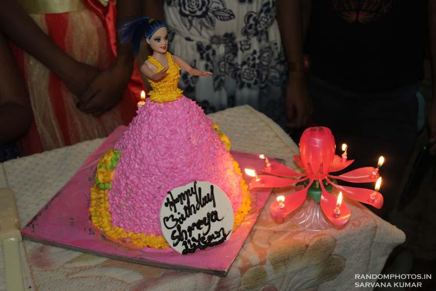 Barbie Cake Pastry Amma's Bangalore