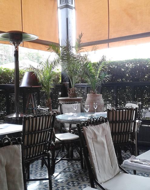 Grand Café de la Poste, Marrakech | Happy in Red