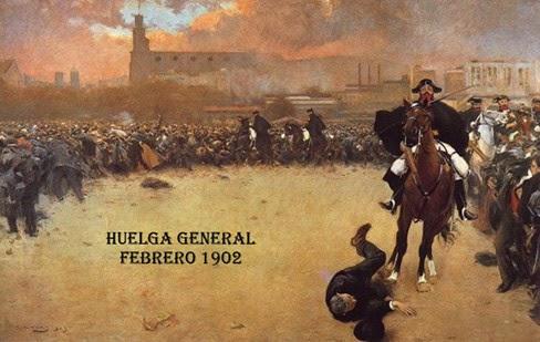 La huelga de febrero de 1902
