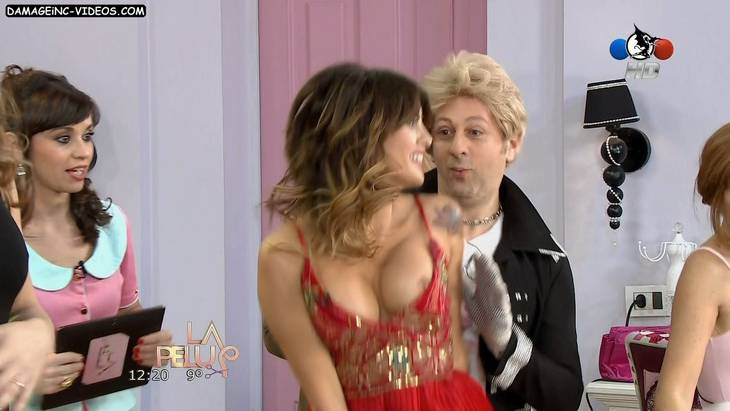 Silvina Luna oops nipple HD video