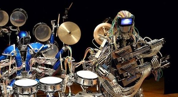 Inilah Grup Band Robot Pertama di Dunia