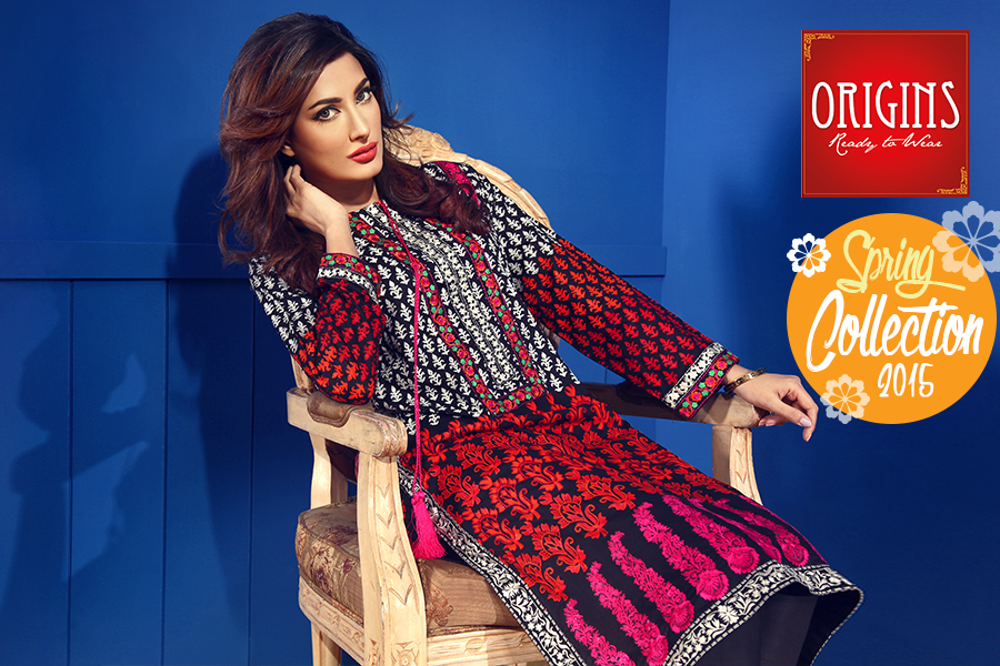 Origins Ready to Wear Lawn Collection 2015