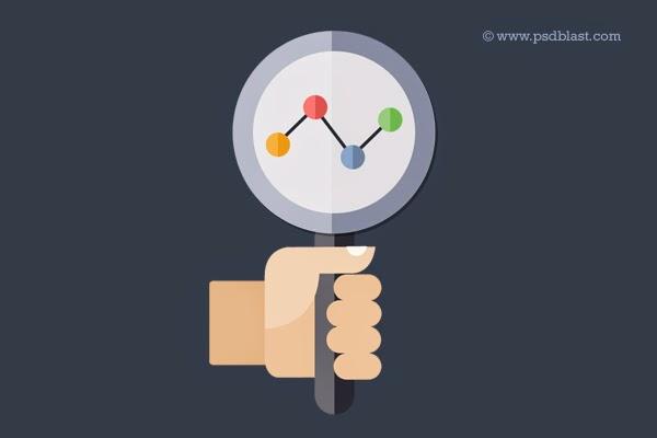 Search Engine Optimization Icon PSD