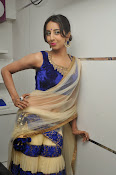 Sanjjana Latest Glam pics in saree-thumbnail-7