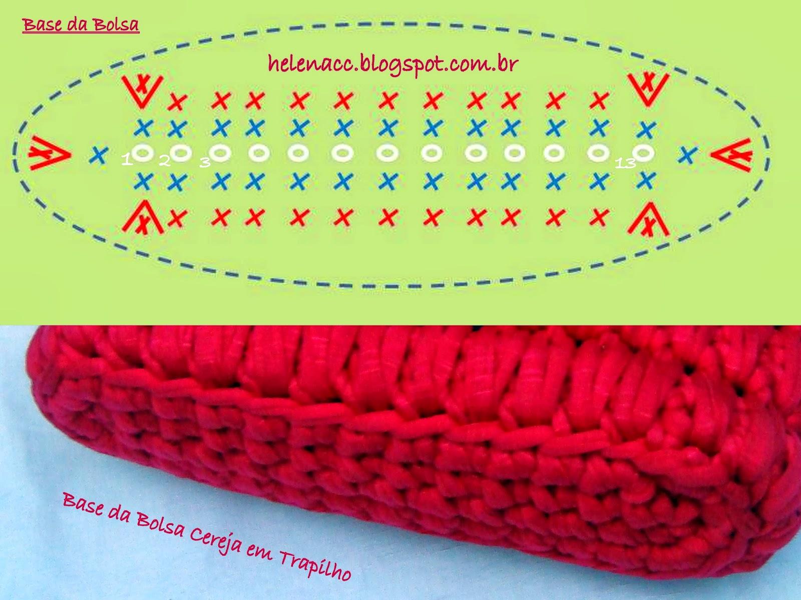 Вязание сумки крючком пряжей-лентой