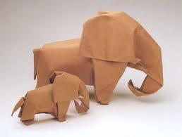 karya seni origami Akira Yoshizawa
