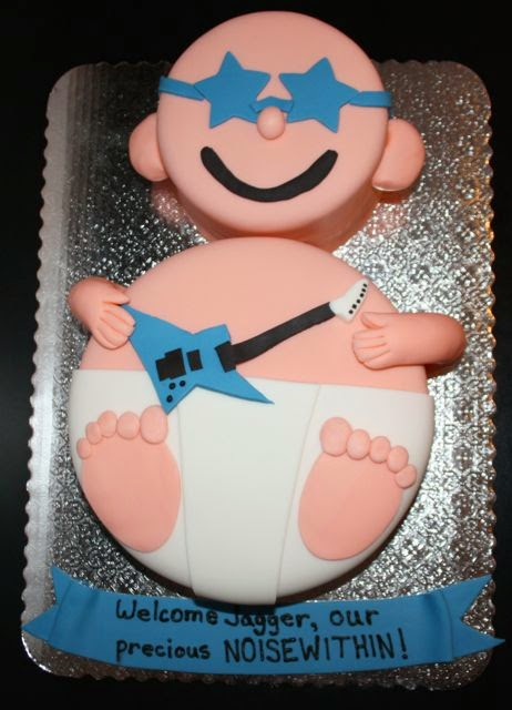 Baby Rock Star Baby Shower