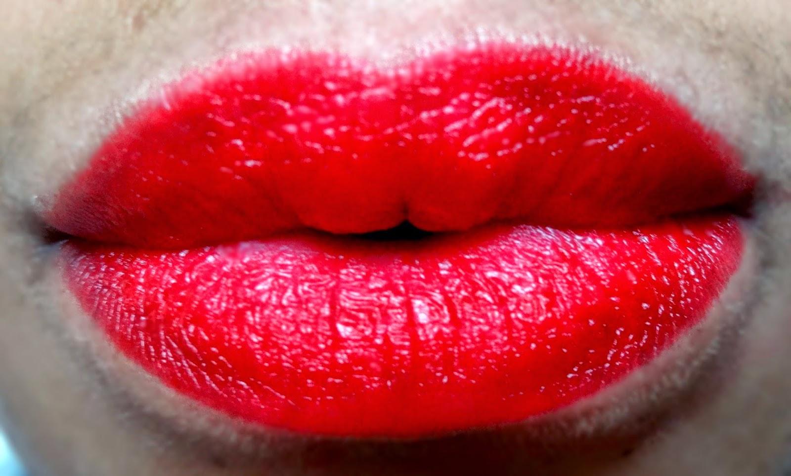 elf studio matte lip colors rich red