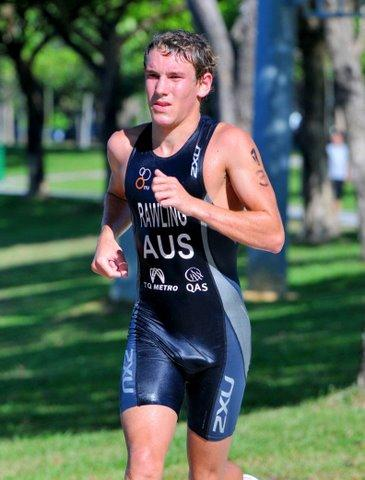 AUS Runner Wet Lycra Bulge