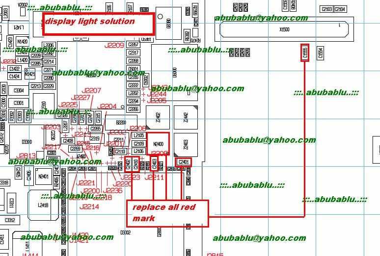 DISPLAY LIGHT PROBLEM SOLUTION FOR NOKIA X5