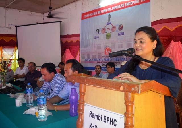 Sabhasad aasha Gurung Japanese encephalitis awareness camp rambi