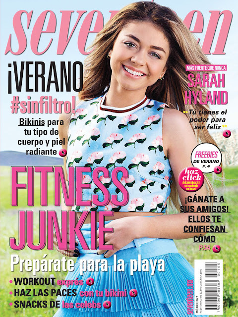 Actress @ Sarah Hyland - Seventeen Mexico, June 2015