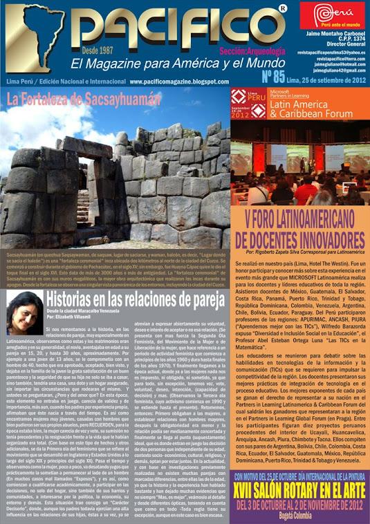 Revista  Pacífico Nº 85 Arqueología