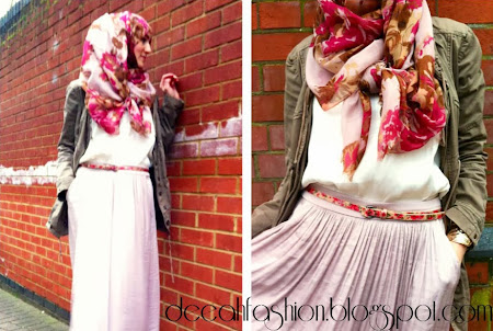 Tampil Chic Dengan Jilbab Simply Girly