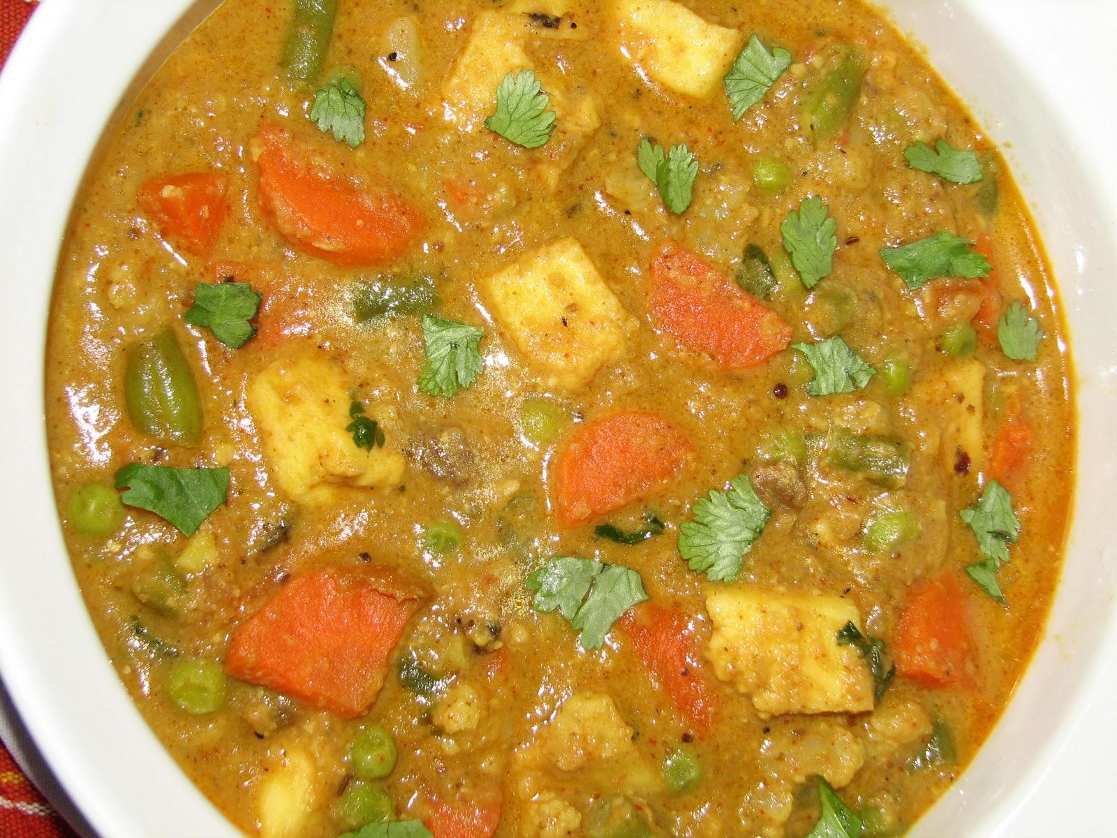 Punjabi recipes punjabi foods punjabi dishes punjabi menu navratan korma forumfinder Choice Image