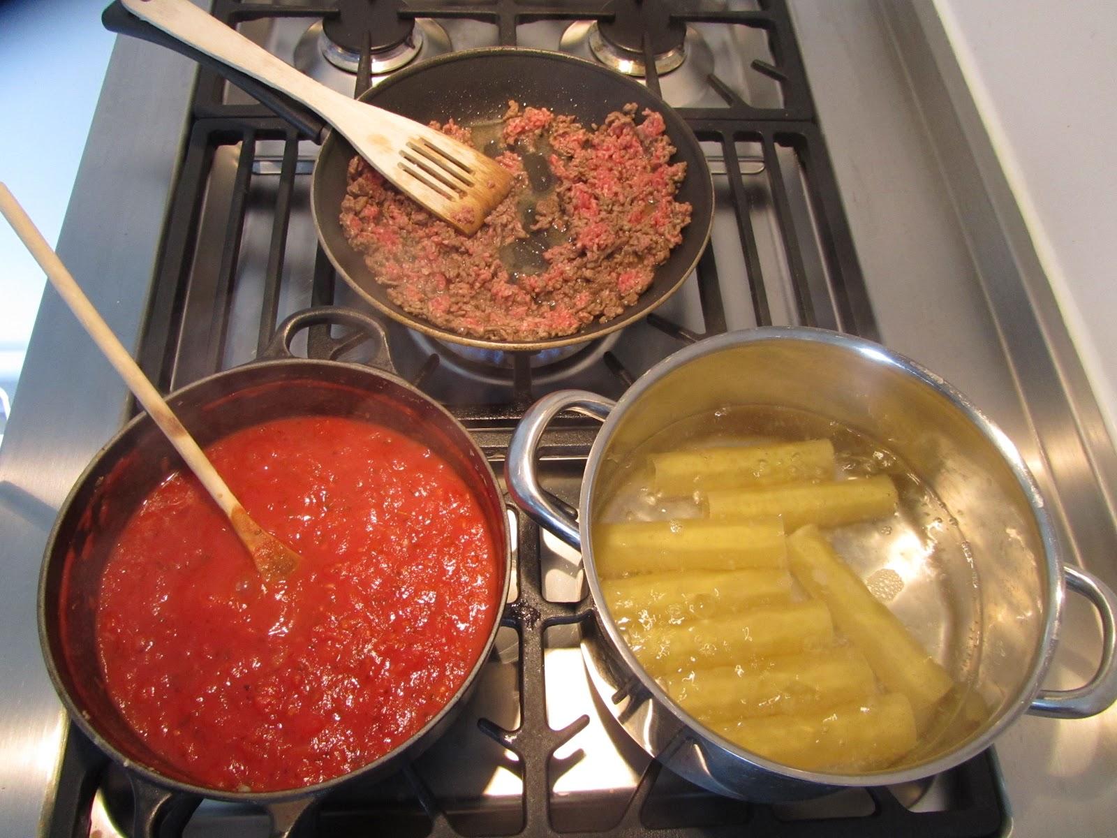 recept cannelloni gehakt spinazie