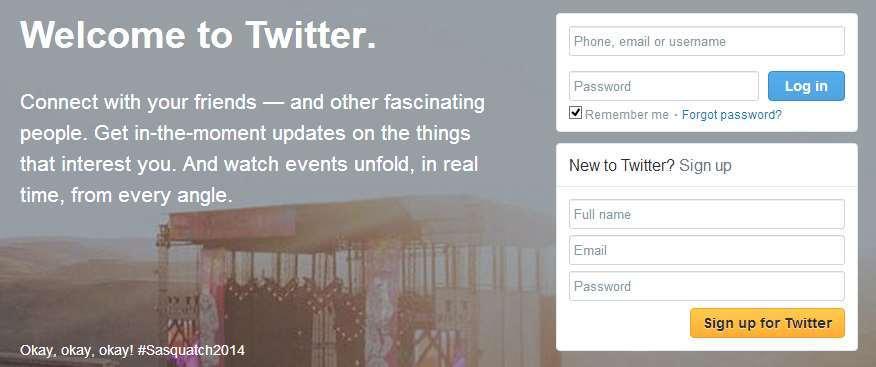 Cara Membuat Akun Twitter gambar 1