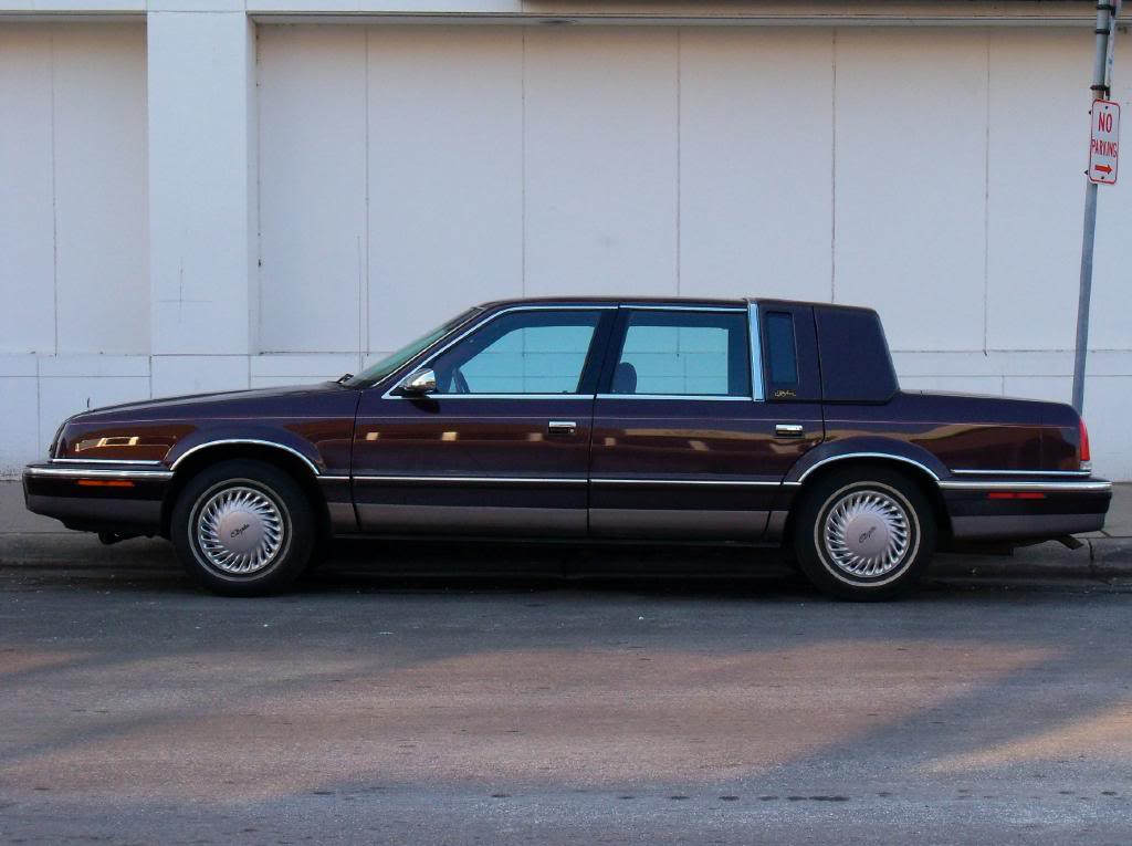 Chrysler new yorker 1993 gas mileage for 1993 chrysler new yorker salon