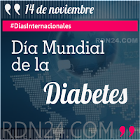 Día Mundial de la Diabetes #DíasInternacionales