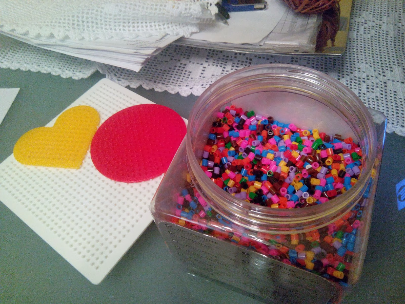 Tarro de Hama Beads