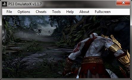 برنامج مجاني لتشغيل العاب بلاي ستيشن 3 على أجهزة الكمبيوتر PS3 Emulator 1-1-7