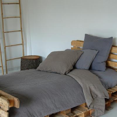 linen beding from france