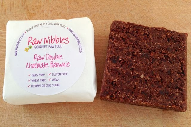 Raw Nibbles Double Chocolate Vegan Brownie