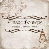 Мой магазинчик Vintage Boutique