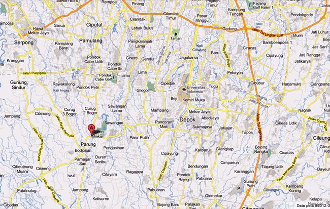 Peta Menuju Pool / Kantor :