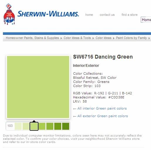 SW6716 Dancing Green