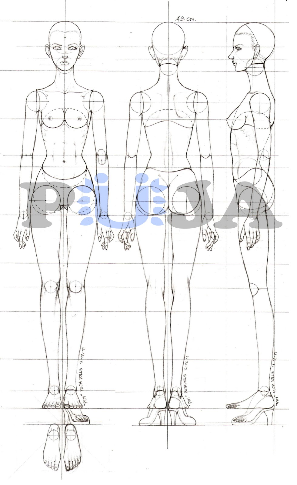 Body refs on pinterest bjd pose reference and body shapes for Blueprint online