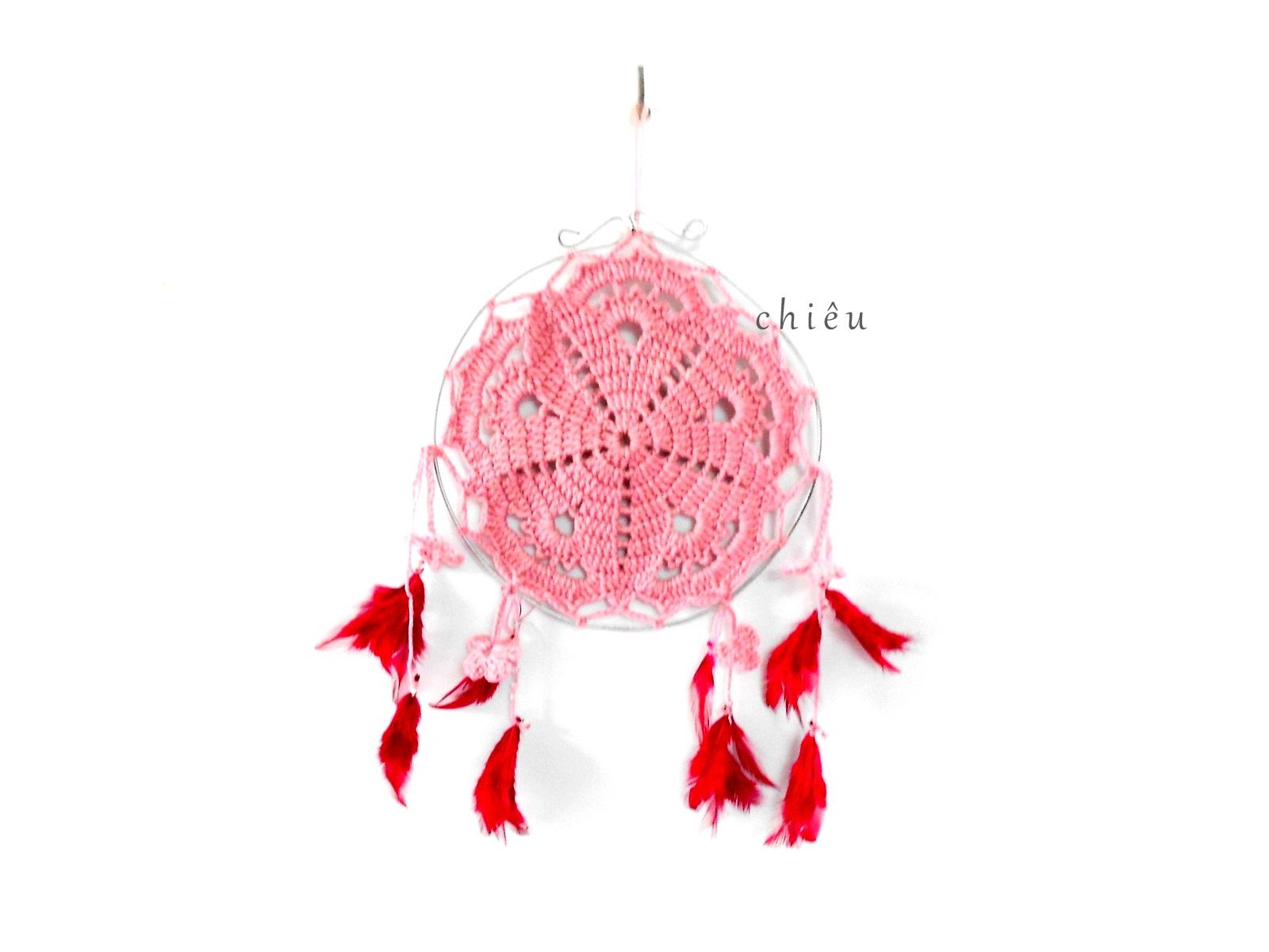 Firefly Crochet Doily Dream Catcher Free Pattern Chart