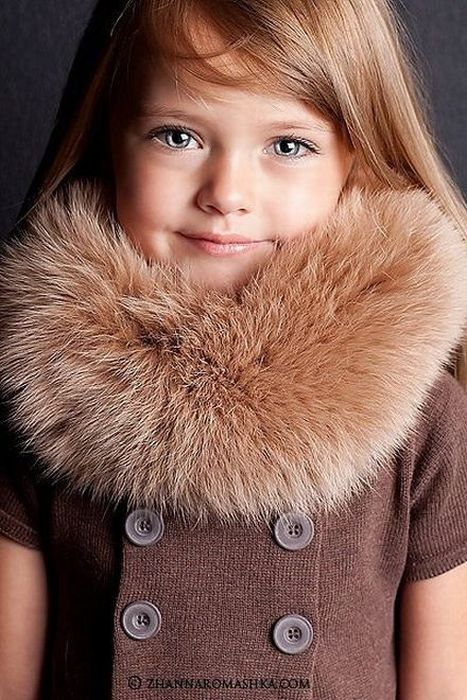 Kristina Pimenova, A 4 Year Old Model