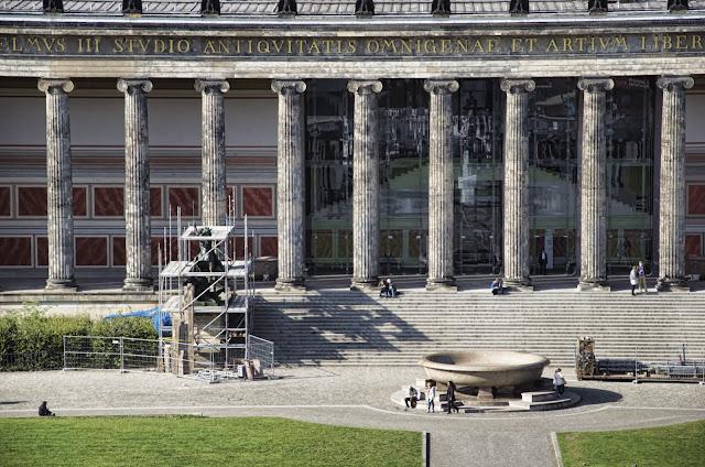 Baustelle Altes Museum, Am Lustgarten, 10178 Berlin, 01.10.2013