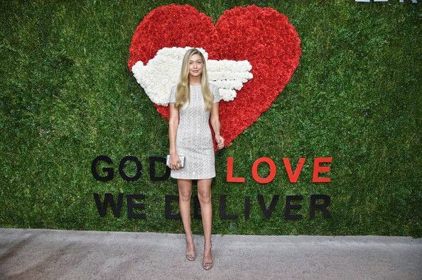 Gigi Hadid was dressed to the nines, and in the best way, for the God's Love We Deliver, Golden Heart Awards at New York, USA on Thursday, October 16, 2014.